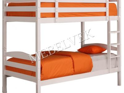 Двухъярусная кровать из массива дерева Забава