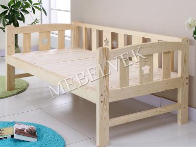 кровать с ящиками детская Пинокио