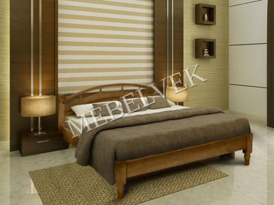 Двуспальная кровать из дерева Афродита