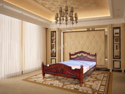 Полутороспальная дачная кровать Эльза