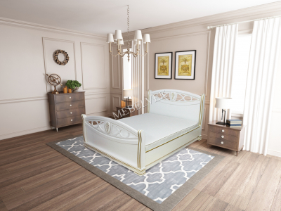 Односпальная кровать 90х200 Анталия