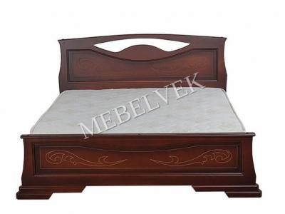 Односпальная белая кровать  Артемида