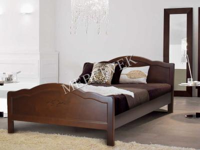 Односпальная кровать 90х200 с ящиками для белья  Авола