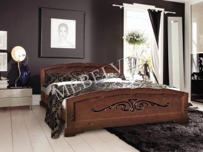 Двуспальная недорогая кровать с подъемным механизмом Будапешт