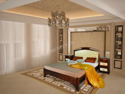 Односпальная кровать из массива сосны Дублин - 1