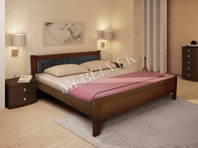 Односпальная кровать из массива сосны Европа