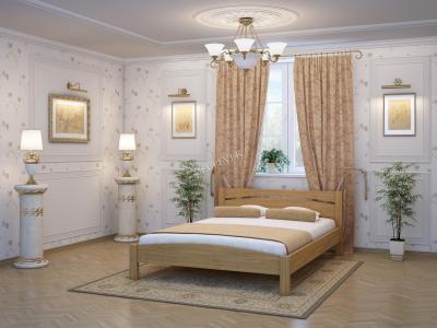 Двуспальная кровать с матрасом  Гавр