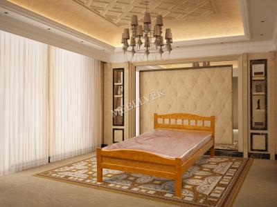 Двуспальная кровать из массива сосны Калипсо