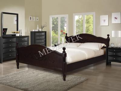 Односпальная кровать из массива сосны Кассандра