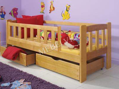Детская кровать Алые паруса с ящиками