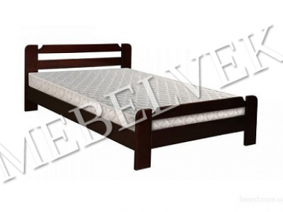 Полутороспальная кровать с матрасом  Анкона