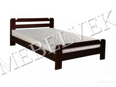 Двуспальная кровать из дерева Анкона