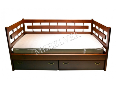 Односпальная Кровать Веста 3 Спинки