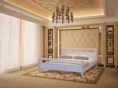 Односпальная кровать из массива дерева Монако