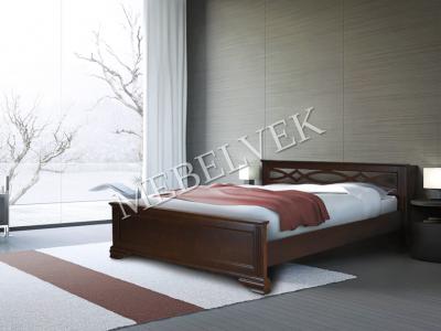 Односпальная кровать 90х200 с ящиками для белья   Муза