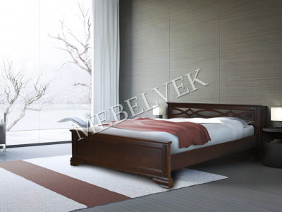 Двуспальная кровать с матрасом  Муза