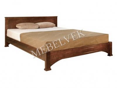 Односпальная кровать из массива сосны Дрезден