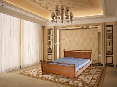 Односпальная кровать из массива дерева Орион
