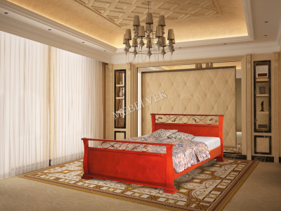 Орион кровать на заказ с ковкой