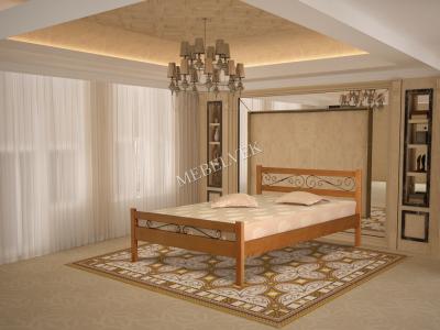 Палаццо  кровать с ковкой