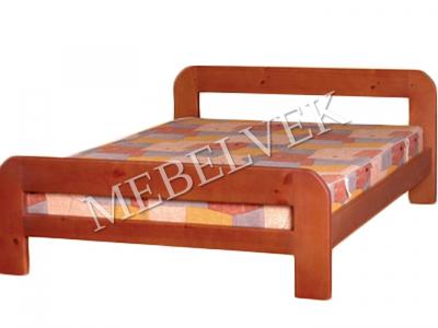 Двуспальная кровать из массива сосны Панама