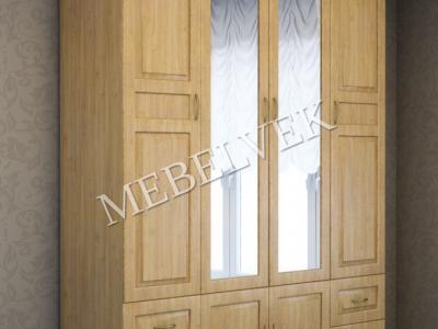 Деревянный шкаф Витязь-244