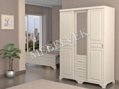 Деревянный шкаф Витязь-253 Купе