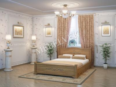 Односпальная кровать на заказ Рондо c 2 ящиками