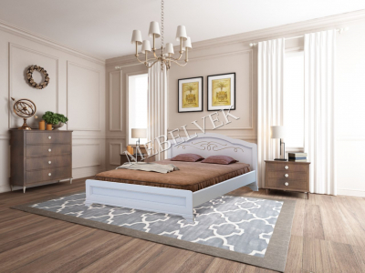 Полутороспальная кровать с матрасом  Торино