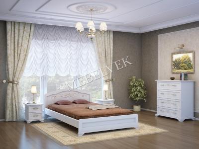Спальный Комплект Валенсия (белый)