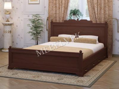 Полутороспальная кровать Венера 2  с 2 ящиками