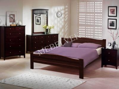 Двуспальная кровать из массива сосны Виардо