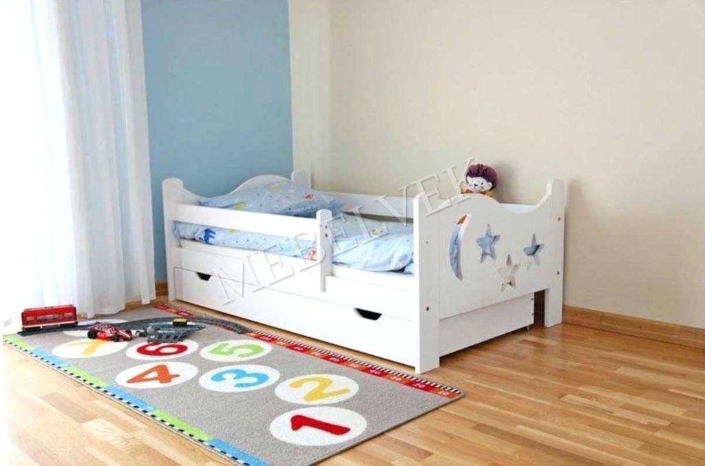 Кровать детская Звёздочка из массива березы