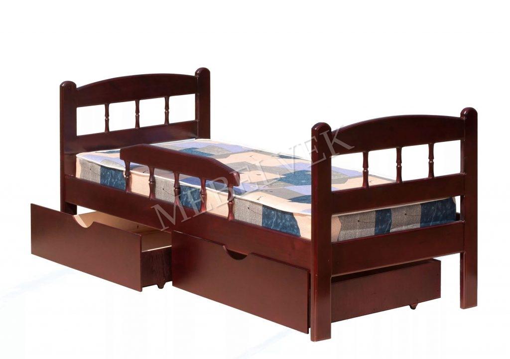 Кровать детская Карусель из массива березы