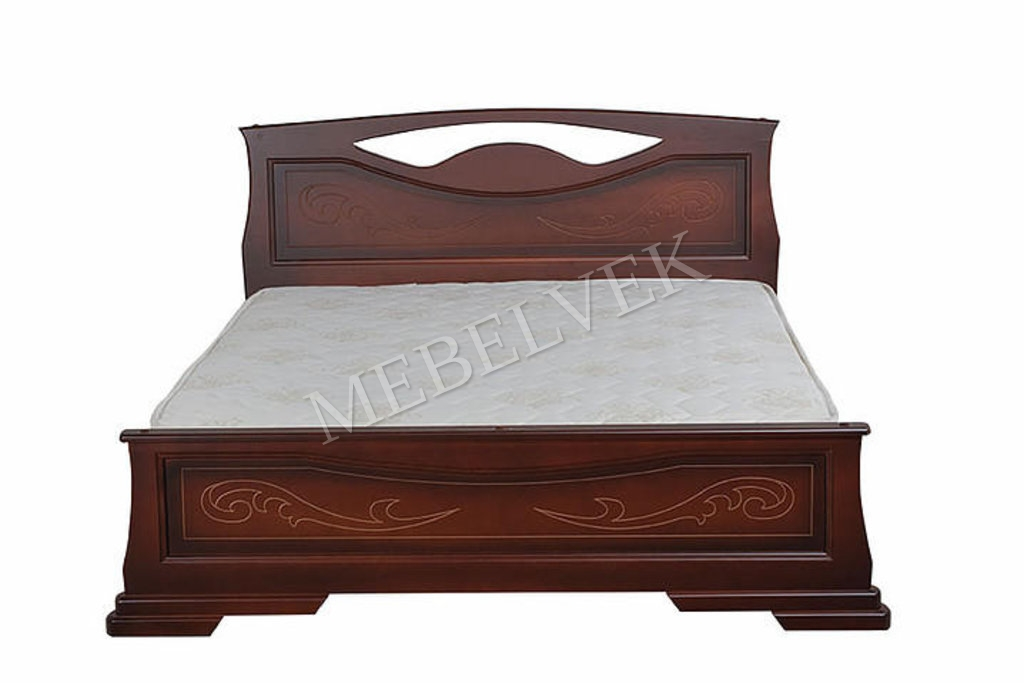 Кровать Артемида из дуба