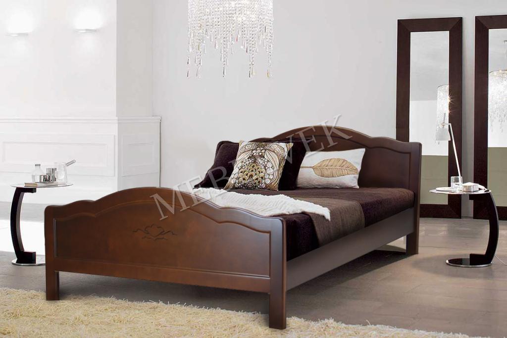 Кровать Авола из дуба