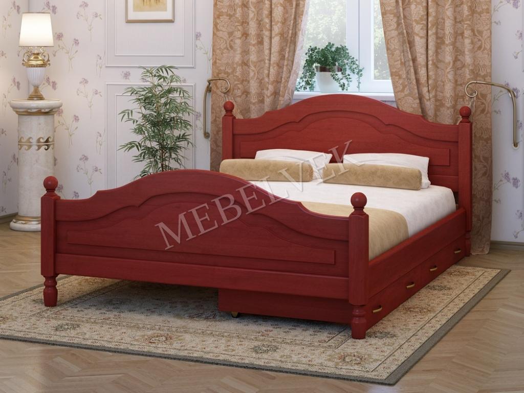 Кровать Аврора c 2 ящиками (160х200)