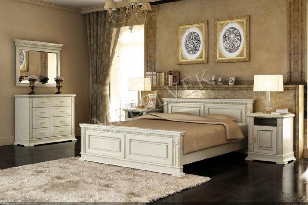 Кровать Верди Люкс из бука