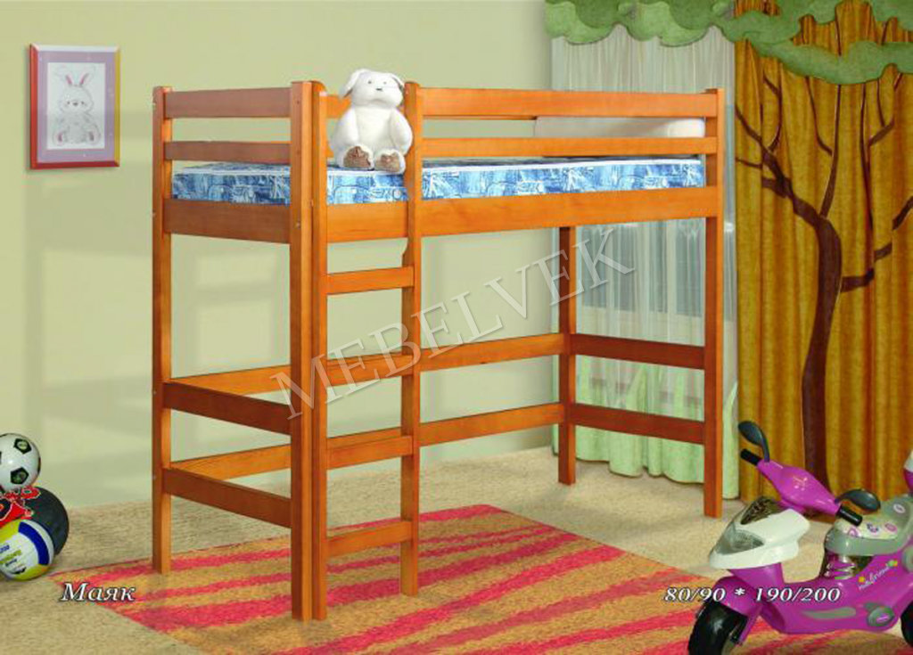 Двухъярусная кровать Маяк