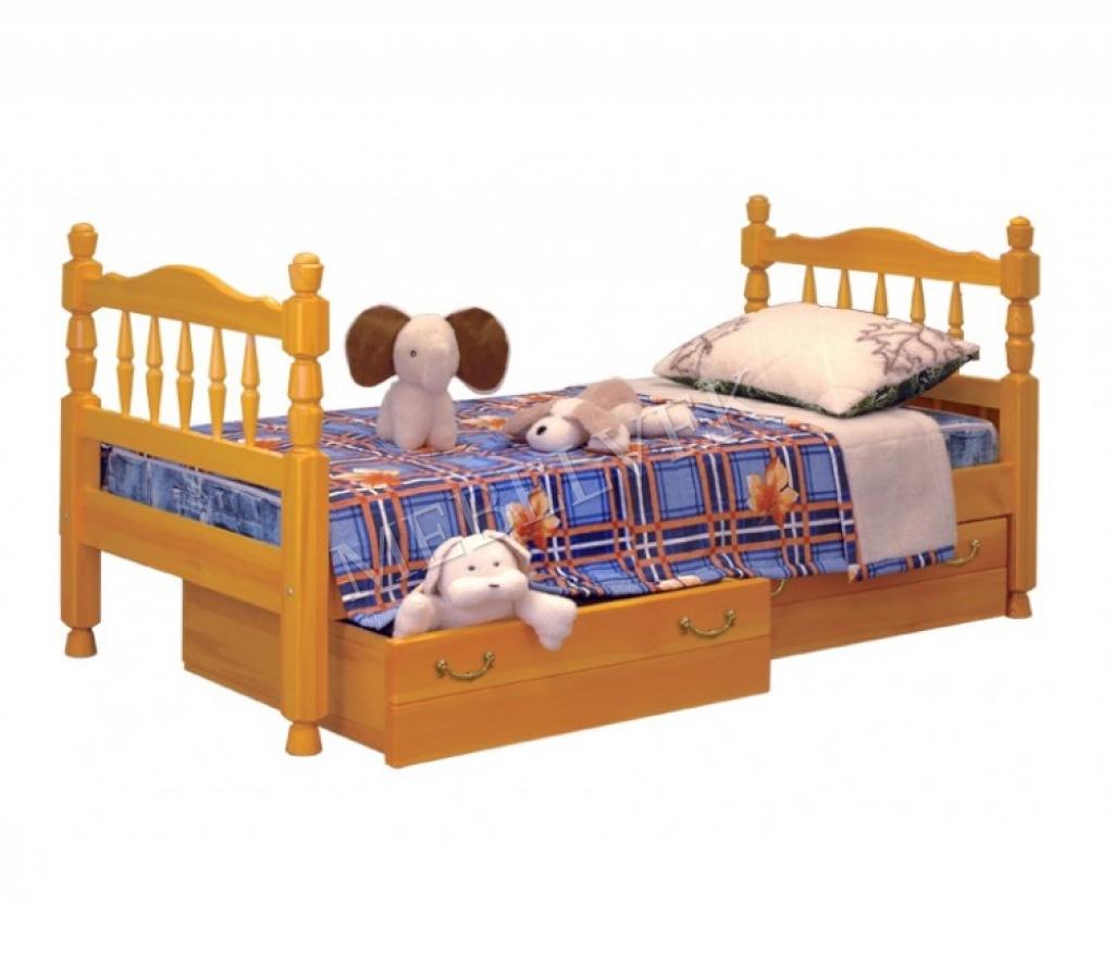 Кровать детская Эскимо из дуба