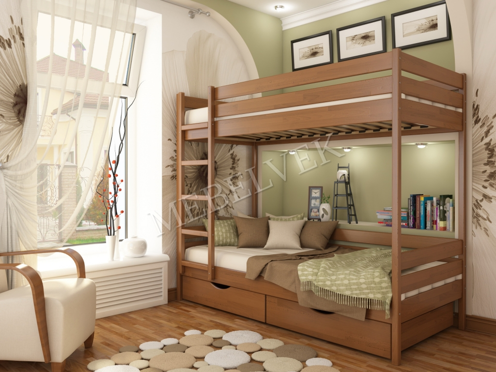 Двухъярусная кровать Селена