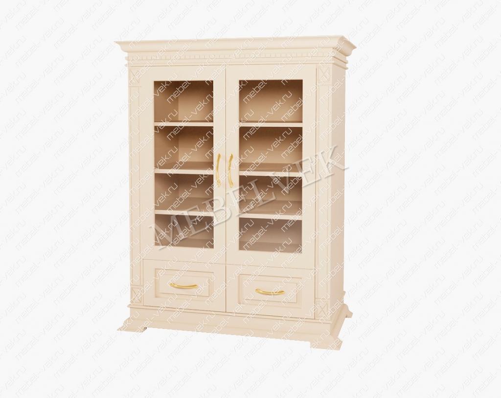 Книжный шкаф Верди 108 из массива