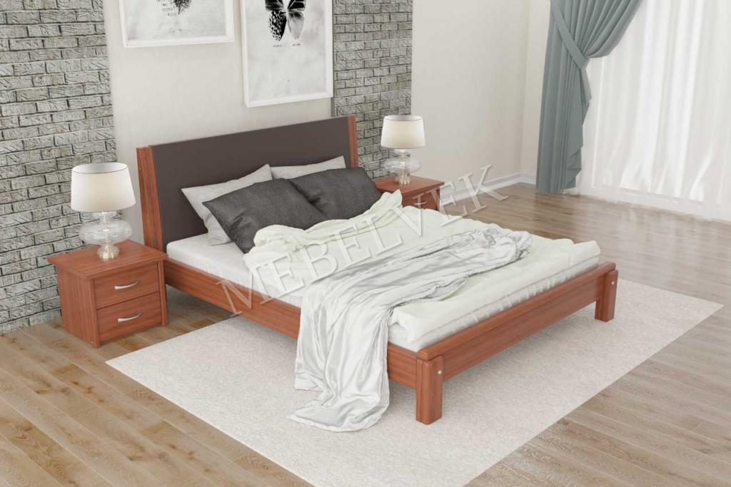 Кровать Адонис с мягким изголовьем