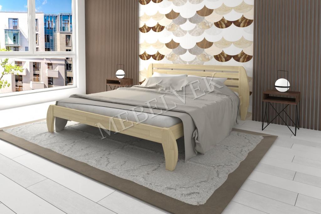 Кровать Аладино из дуба