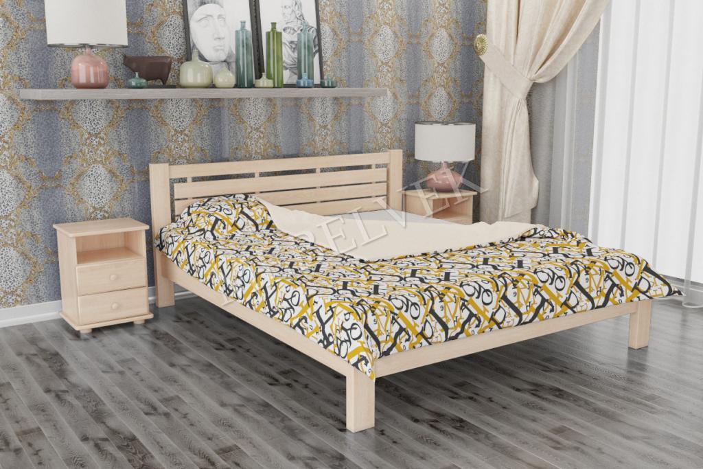 Кровать Амалия из дуба