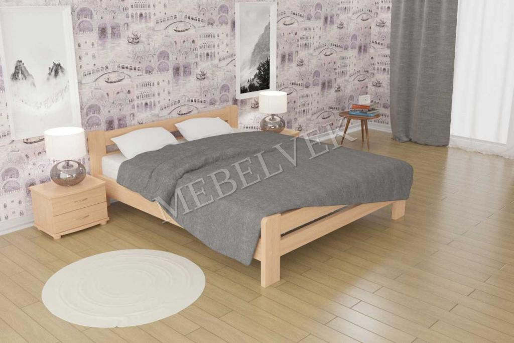 Кровать Амарант из дуба