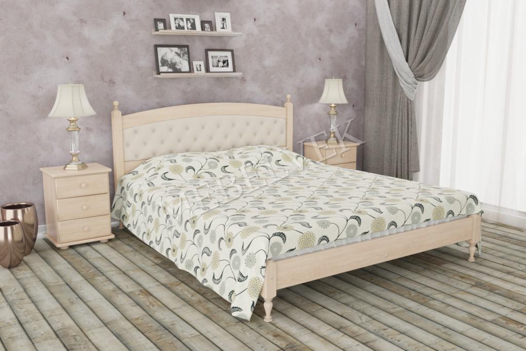 Кровать Борнео из дуба