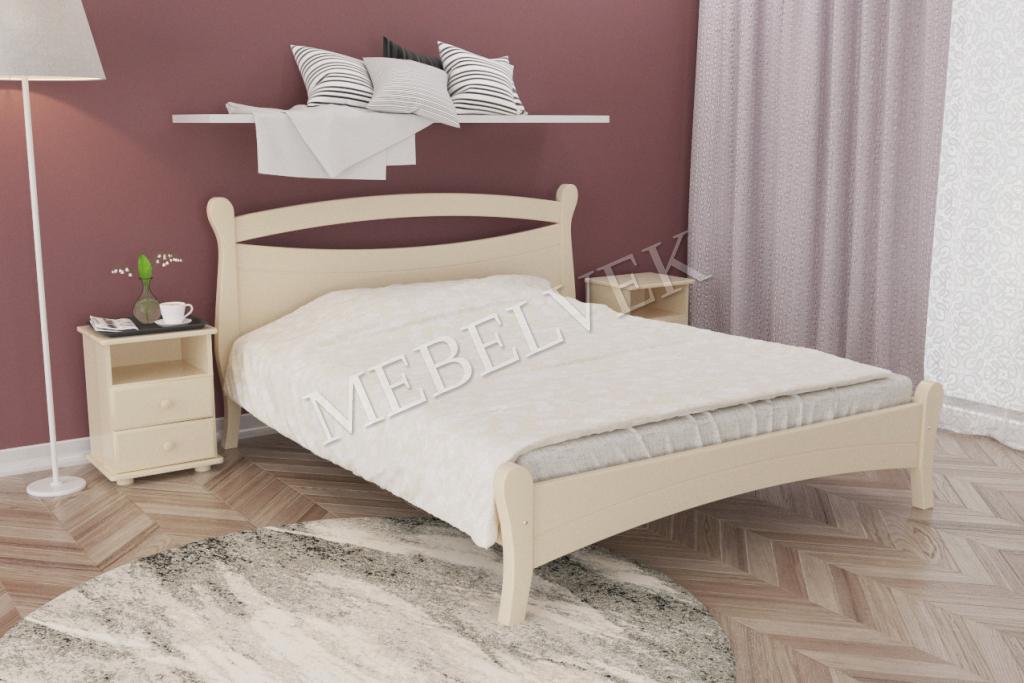 Кровать Дарина из дуба