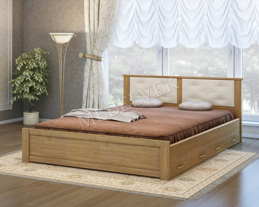Кровать Лоди с 2 ящиками