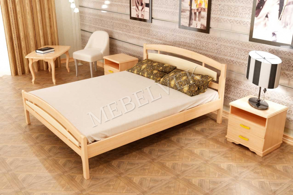 Кровать Эрика из березы